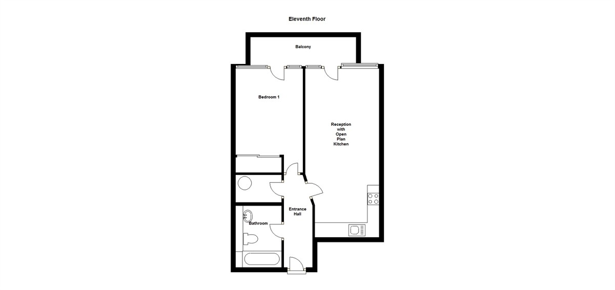 1 bedroom apartment for rent in london for How much is a bathroom worth on an appraisal