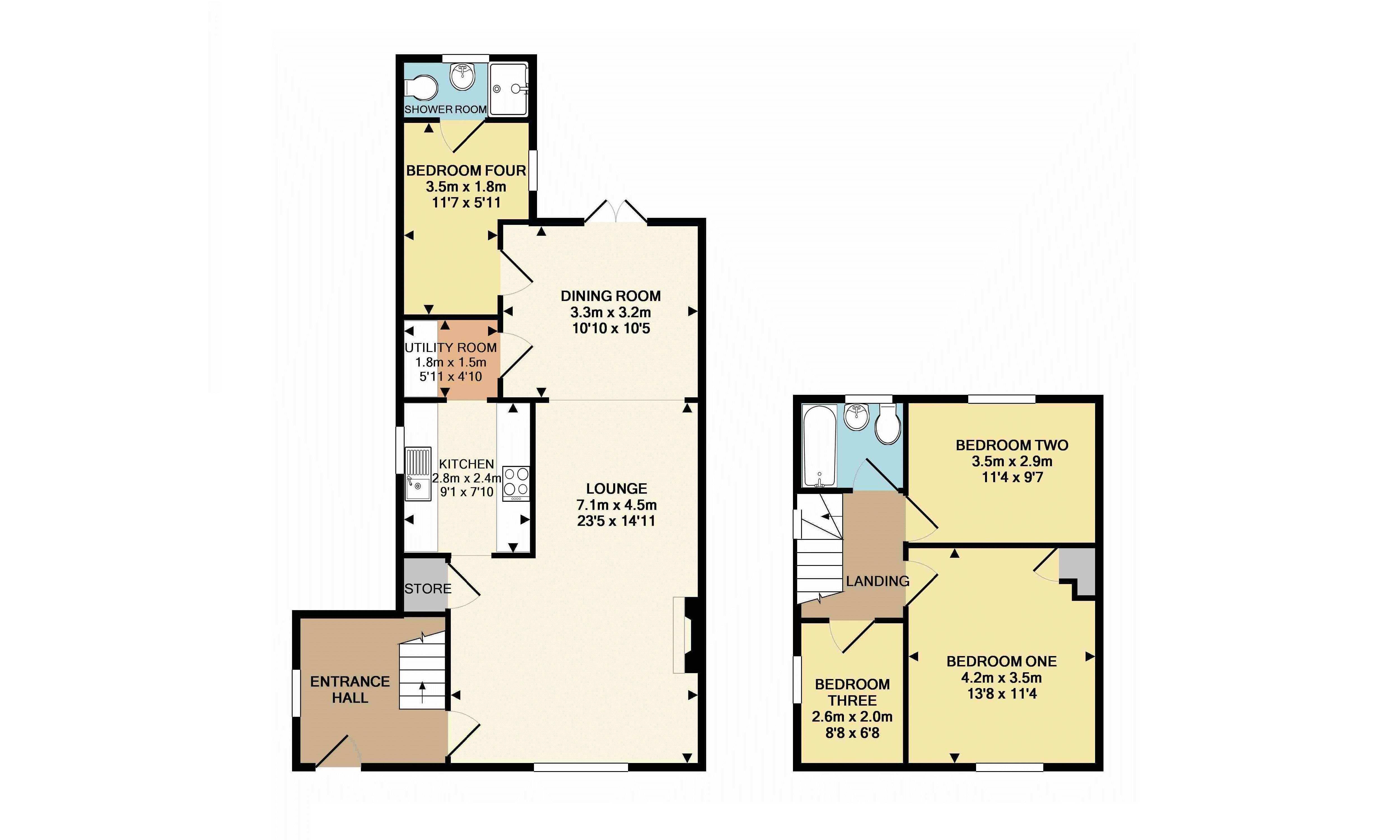 4 bedroom house for rent in dunstable for How much is a bathroom worth on an appraisal