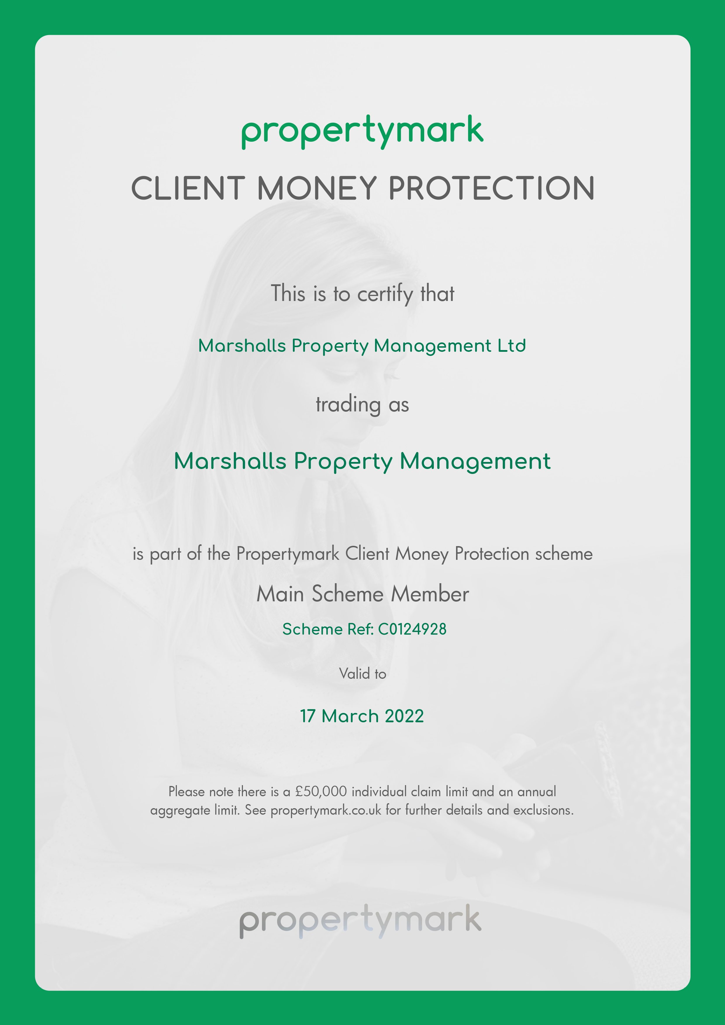 client_money_protection_-_certificate_email