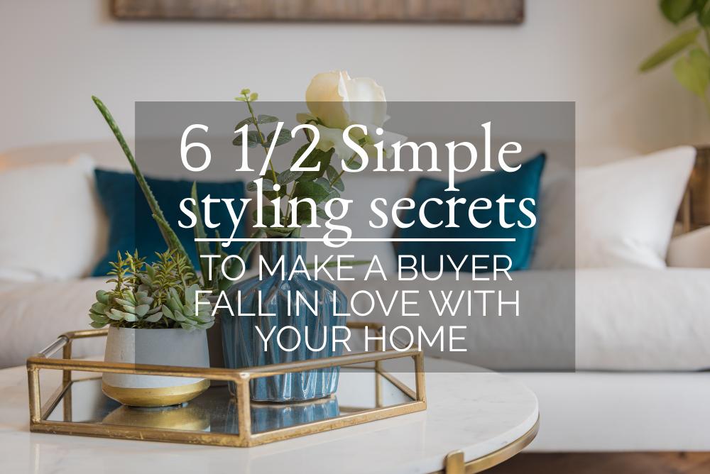 6 1/2 simple styling secrets