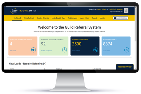 Guild Referral System