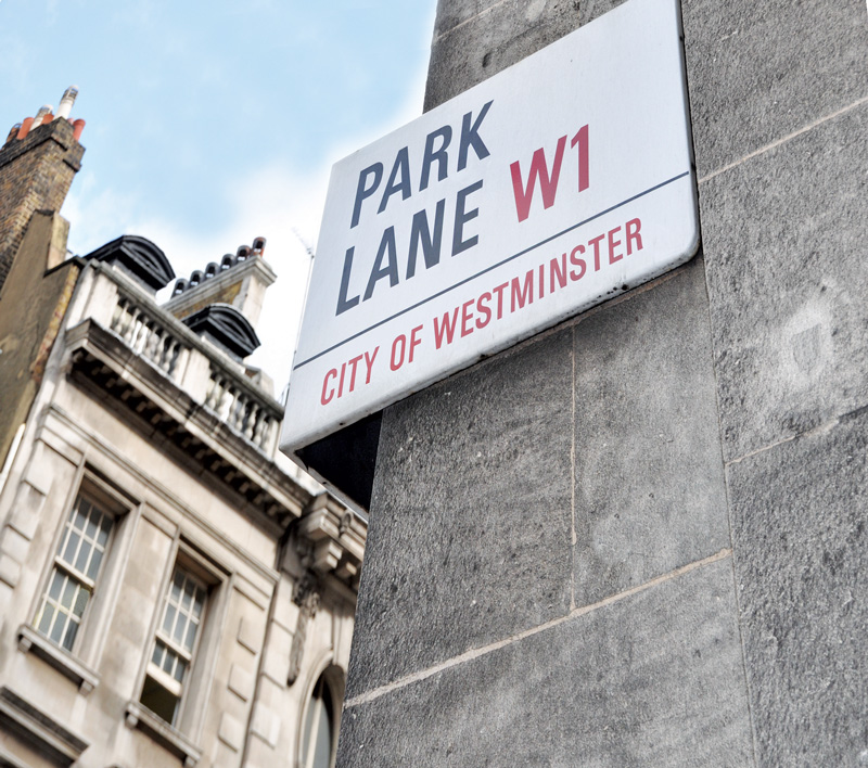 park-lane-sign